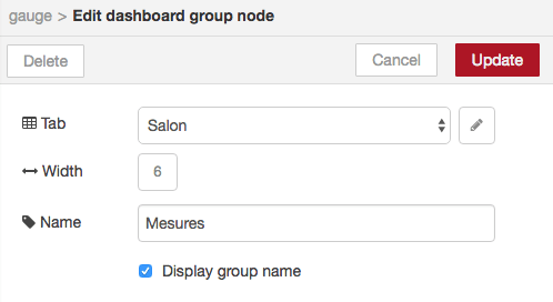 node-red mysensors dht22 dashboard group