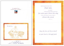 Fetching Christ Child Card Catholic Committee Catholic Cards Messages Free Catholic Cards
