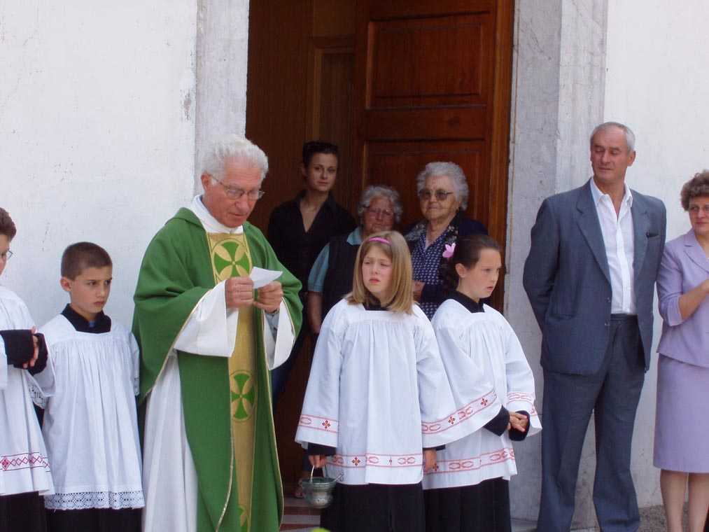 Inaugurazione pavimento chiesa