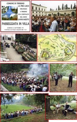 1991-Prima passeggiata in Villa Marzotto