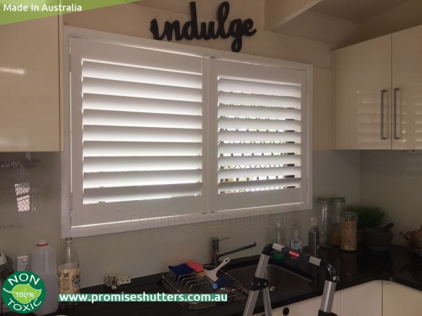 2 panels of window shutters install without frame, side hinges