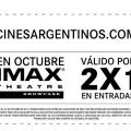 Promo 2×1 en Imax con Cinesargentinos.com