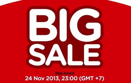 Promotion AirAsia BIG SALE & BIG SHOT DAY [Nov.2013]