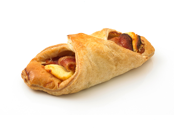 bacon and cheese turnover