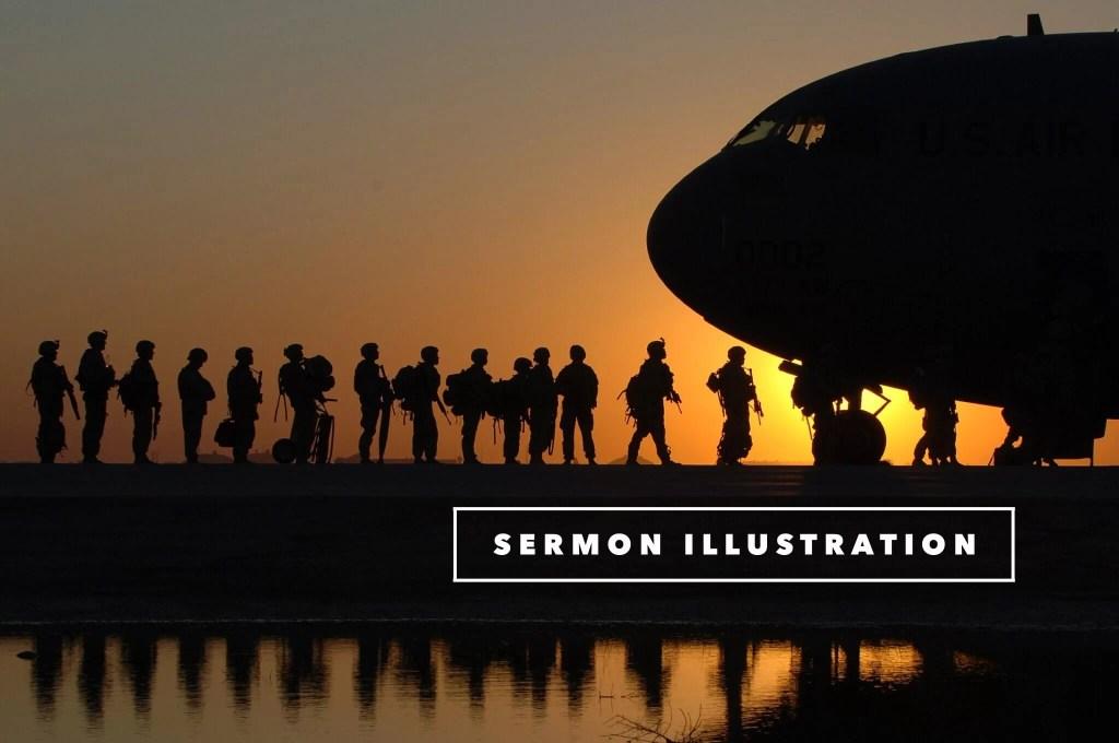 sermon illustration on attitude