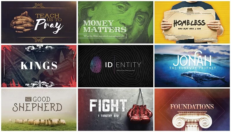 9 Free Church Sermon Series Graphics