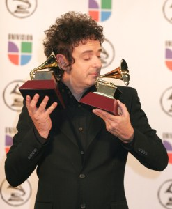Photo by Donna Ward/Abaca Press/MCT In this November 2, 2006 photograph, Grammy-winner Gustavo Cerati poses in the press room at the 7th Annual Latin Grammy Awards at Madison Square Garden in New York. Cerati was an international rock star 15 years before the world heard of Shakira or Juanes.