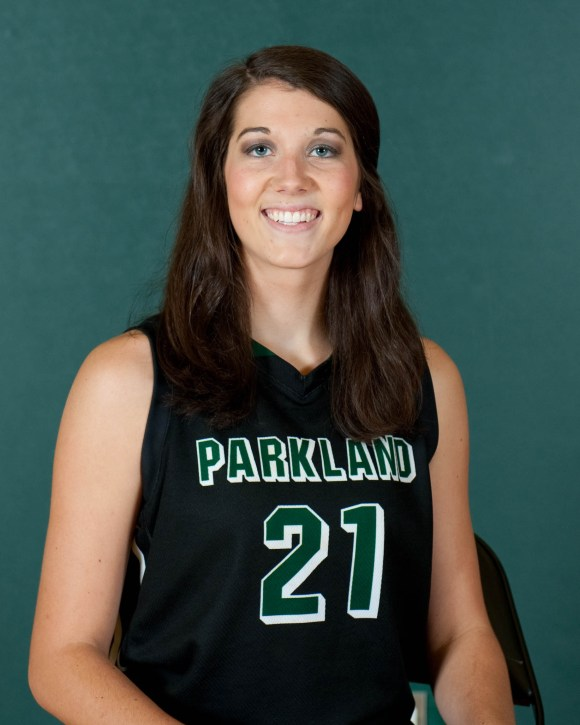 Photo courtesy of Marketing and Public Relations | Parkland College 21	Lauren Moses	6-1	FR	C	Shiloh HS/Newman, IL