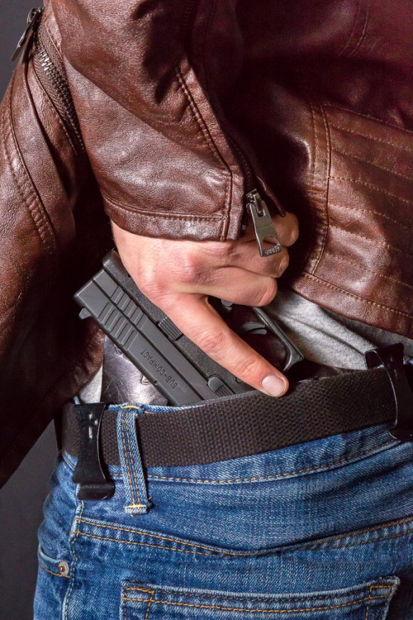 Photo by Scott Wells | The Prospectus  Concealed carry became law in Illinois on July 9, 2013.  In 2012, the Seventh Circuit Court of Appeals found that the state's ban on concealed weapons was unconstitutional.