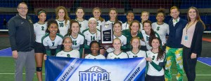 Parkland's volleyball team. Photo from NJCAA website.