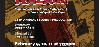 "Student theatre production ""Kazam!"" opens Feb. 9"