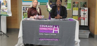 Courage Connection raises awareness for domestic violence