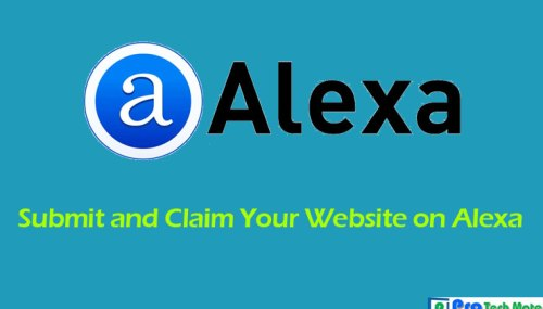 How to submit and claim your website on Alexa?