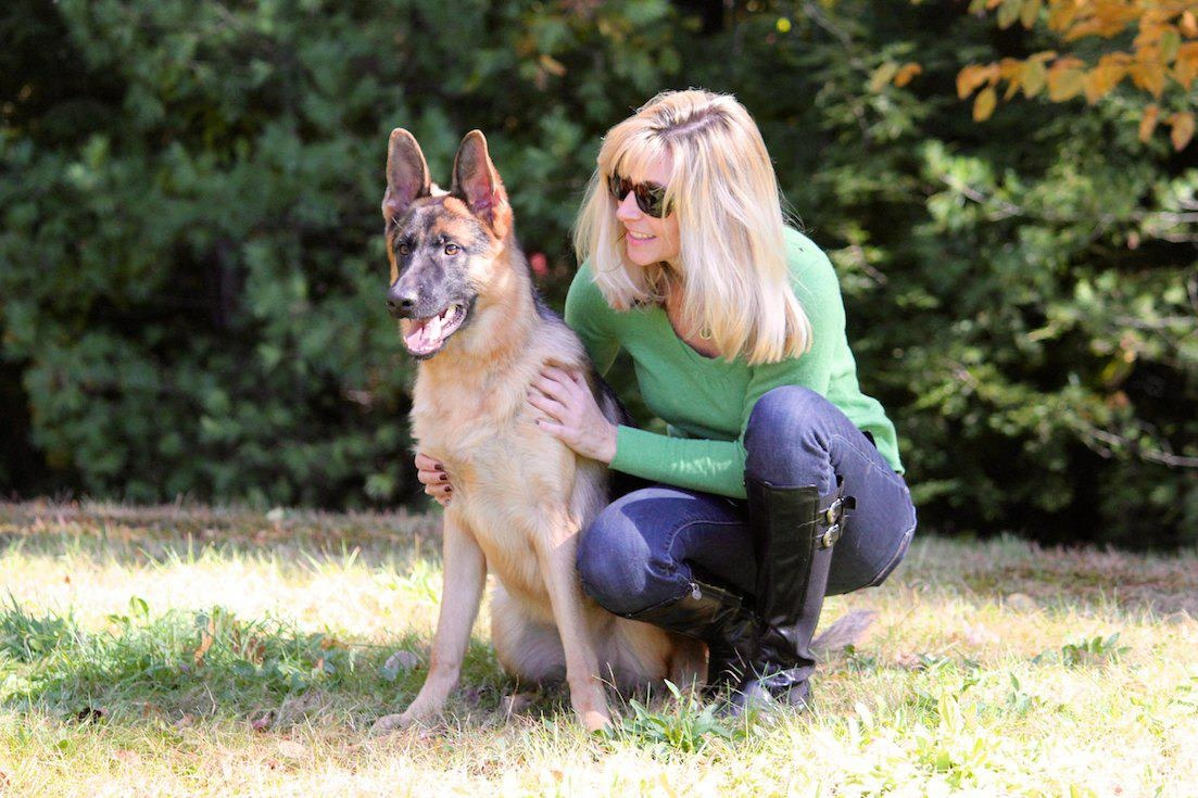 High Dog Women Home Protection Dogs Woman Dog Paw Tattoos Protection Oklahoma Women bark post Women With Dogs