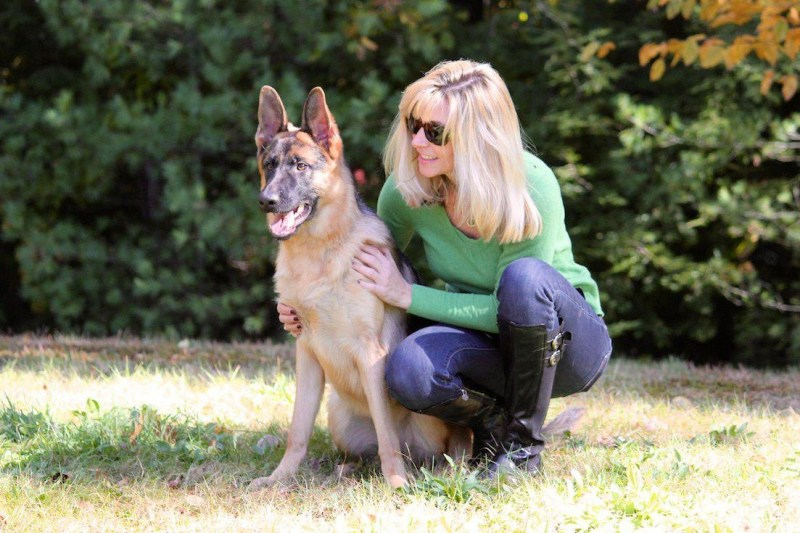 Large Of Women With Dogs