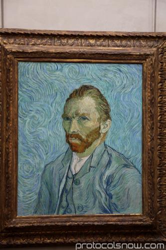 Van Gogh Self-Portrait Orsay Museum