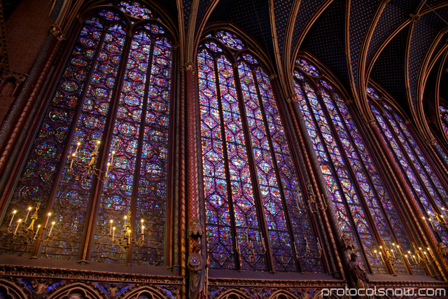 St. Chapelle stained glass windows