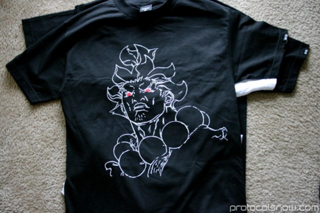 Street Fighter 4 Triumvir Capcom Akuma T-shirt