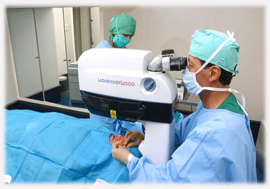 Ophthalmology rotation lasik laser operation refractive surgery