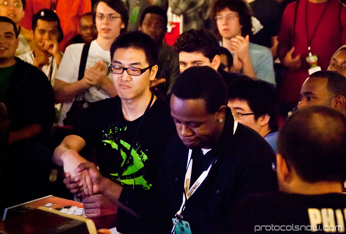 Season's Beatings V Redemption fighting game tournament Gamerbee Sanford Kelly Santhrax Super Street Fighter IV