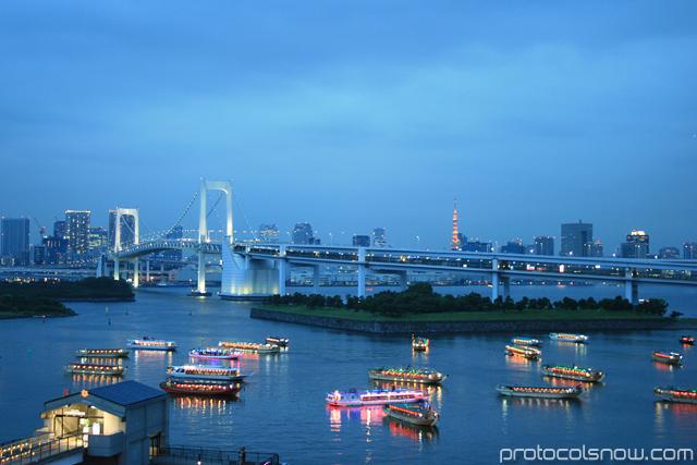 Tokyo Rainbow Bridge Japan