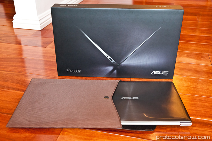 ASUS Zenbook ultrabook laptop UX21 UX31 Apple MacBook Air competitor