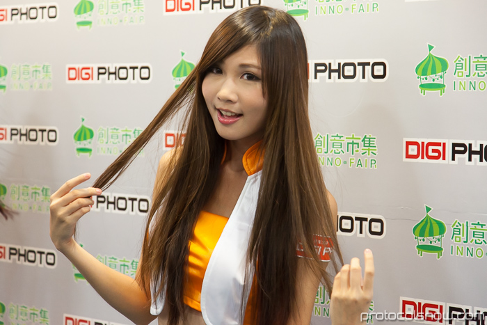 Taipei Taiwan photography expo models show girls