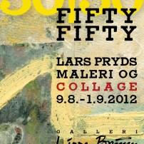 50-50-plakat-A3 Galleri Lisse bruun