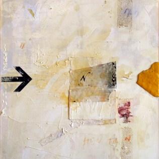 Lars Pryds: Hen til N, 2009. Maleri 70x60 cm.