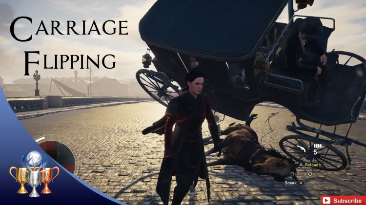 Assassin's Creed Syndicate – Horse Slaughtering, Carriage Flipping Montage – WHAT IS WRONG WITH YOU