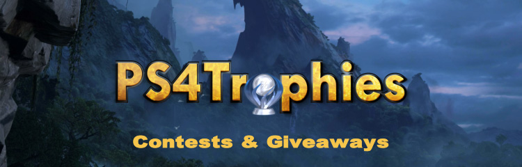 PS4Trophies Contests and Giveaways