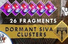 Destiny-Rise-of-Iron-ALL-Dormant-Siva-Cluster-Fragment-Clovis-Bray-Iron-Lords-Fallen-excl-raid