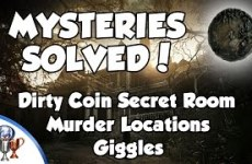 Resident-Evil-7-Mysteries-Solved-Dirty-Coin-For-Use-in-Main-Game-Murders-Notebooks-Giggles