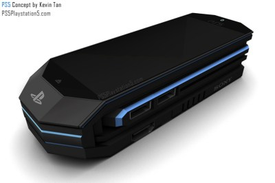 PS5 Transformer - Portable Concept by Kevin Tan