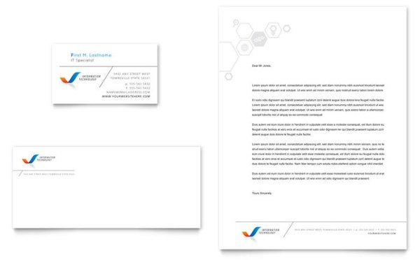 12 Free Letterhead Templates in PSD MS Word and PDF Format – Free Printable Letterhead Templates