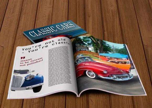 Free Magazine Mockups