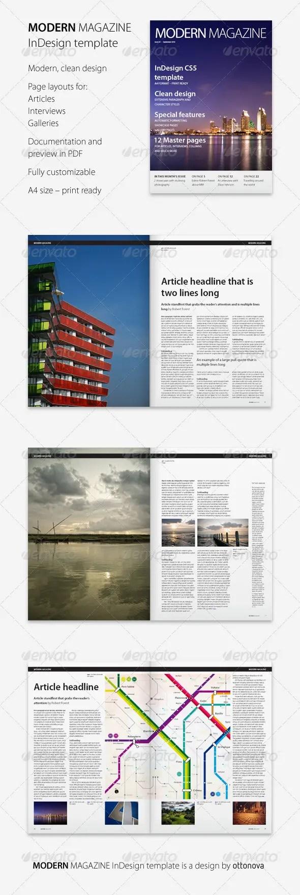 55+ Best Magazine Templates - Photoshop PSD & InDesign Download ...