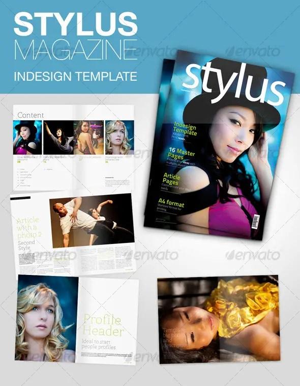 Stylus Indesign Magazine