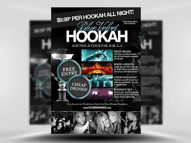 Free Hookah Lounge Flyer Template