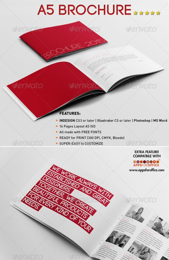 a5 brochure template - 65 print ready brochure templates free psd indesign ai