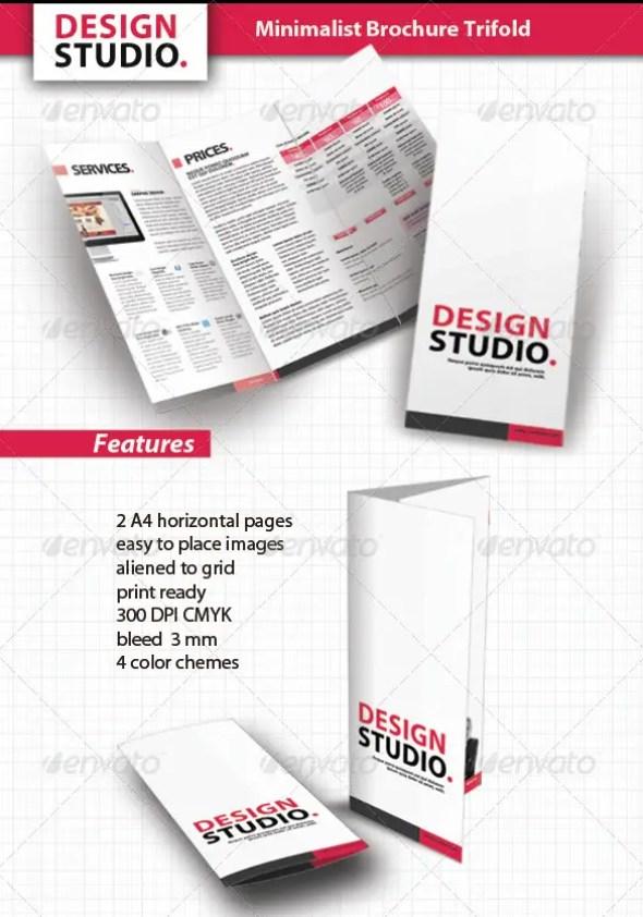 Minimalist Brochure Tri-Fold
