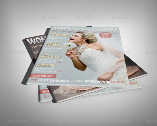 Professional Magazine Display Mock-up V2