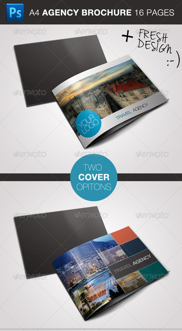 Travel Agency Business Brochure