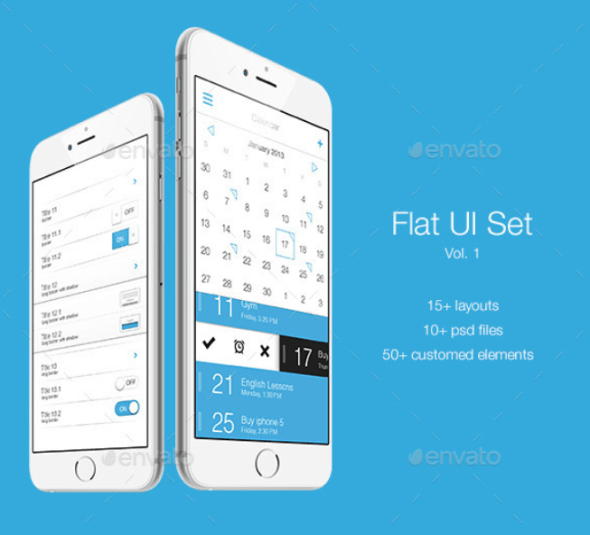 Flat UI Set Vol. 1