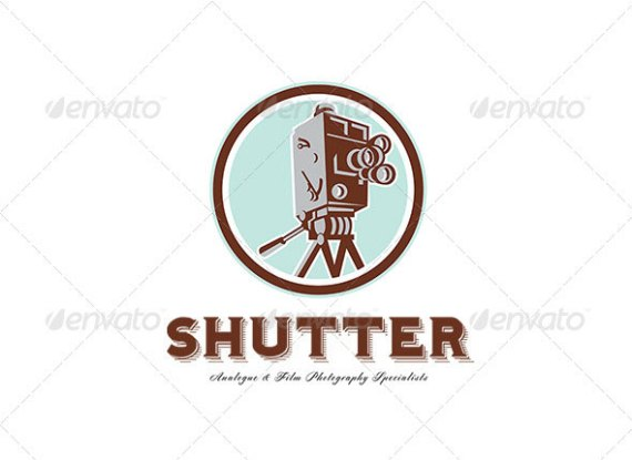 Shutter Film and Photography Specialist Logo