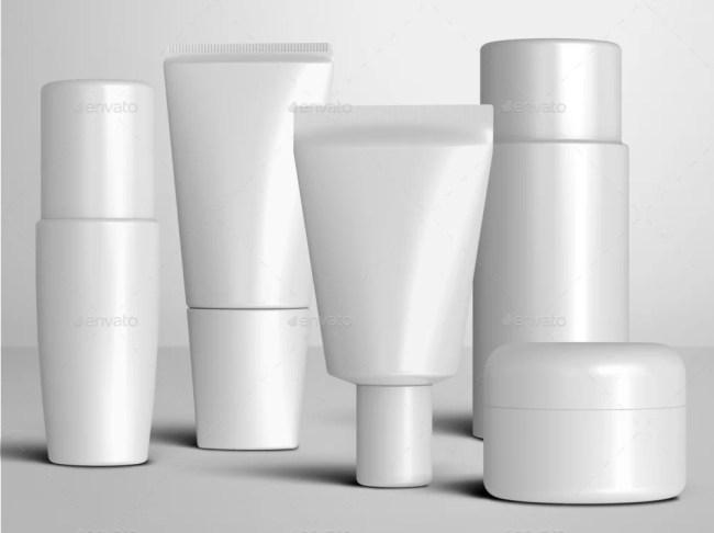 20 Cosmetic Packaging Mockups