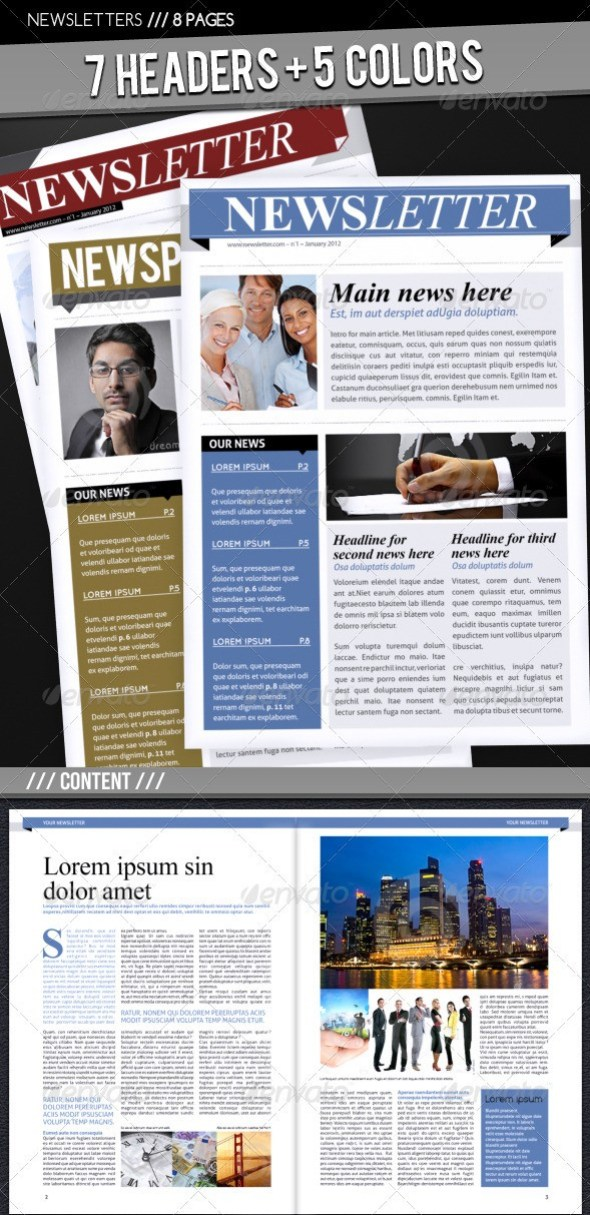 Business Newsletter A4