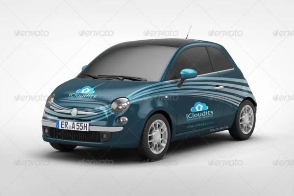 Car Branding Mockup V5