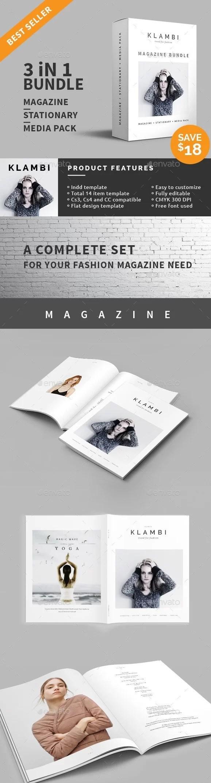 Fashion Magazine Bundle