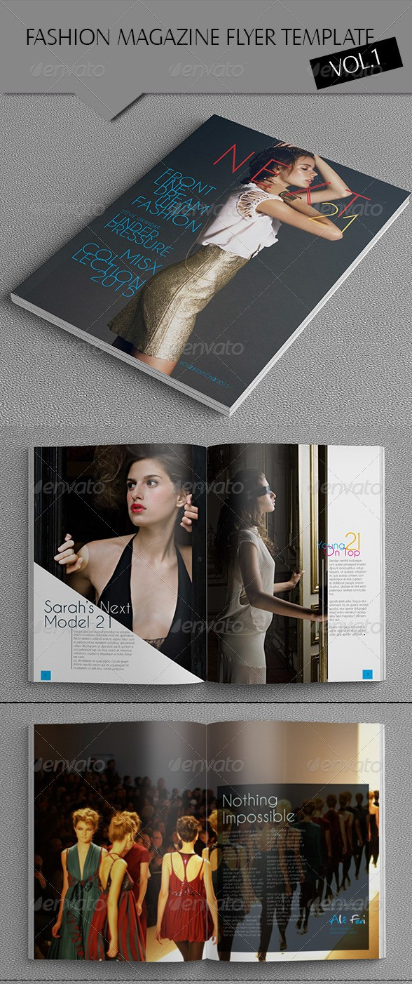 Indesign Fashion Magazine Template